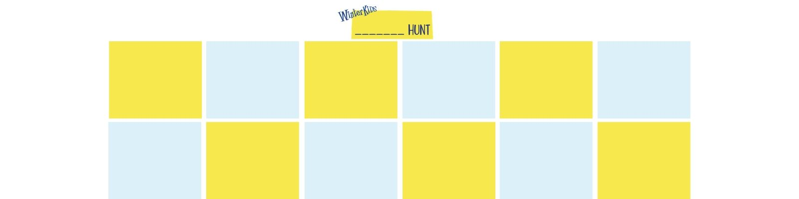 Create Your Own Nature Hunt
