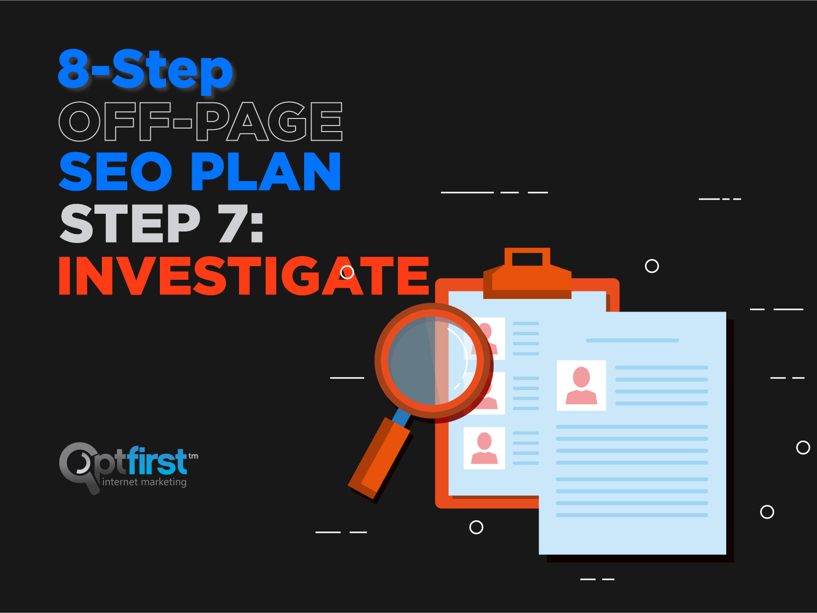 8-Step Off-Page SEO Plan, Step 7: Investigate