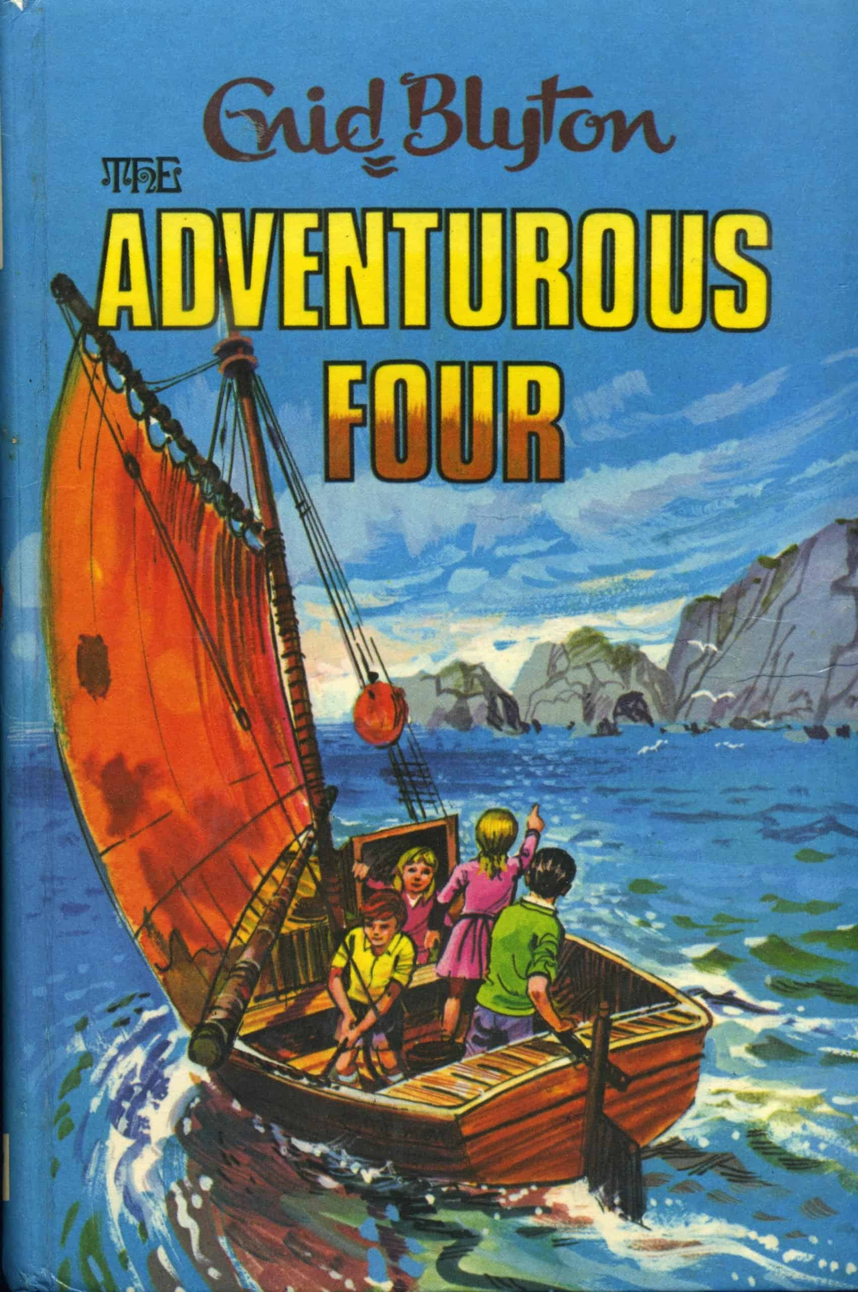 the adventurous four enid blyton