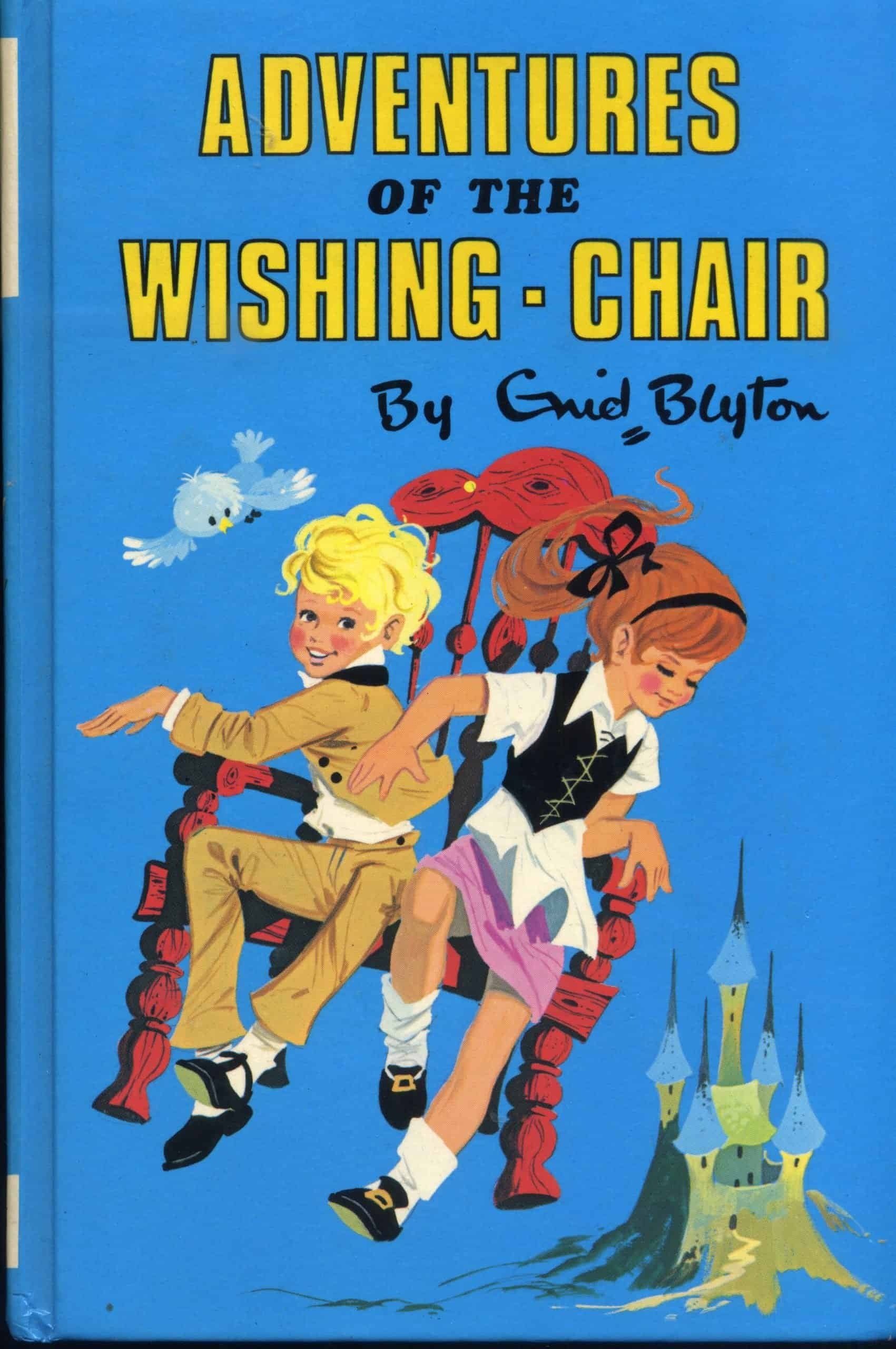 Adventures of the Wishing Chair Book Cover Enid Blyton