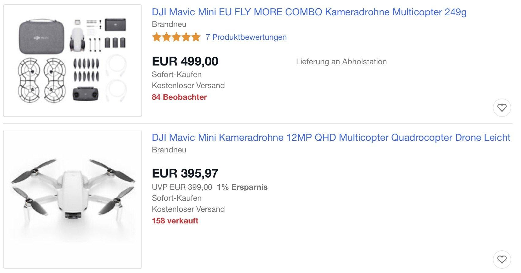 Mavic Mini Ebay