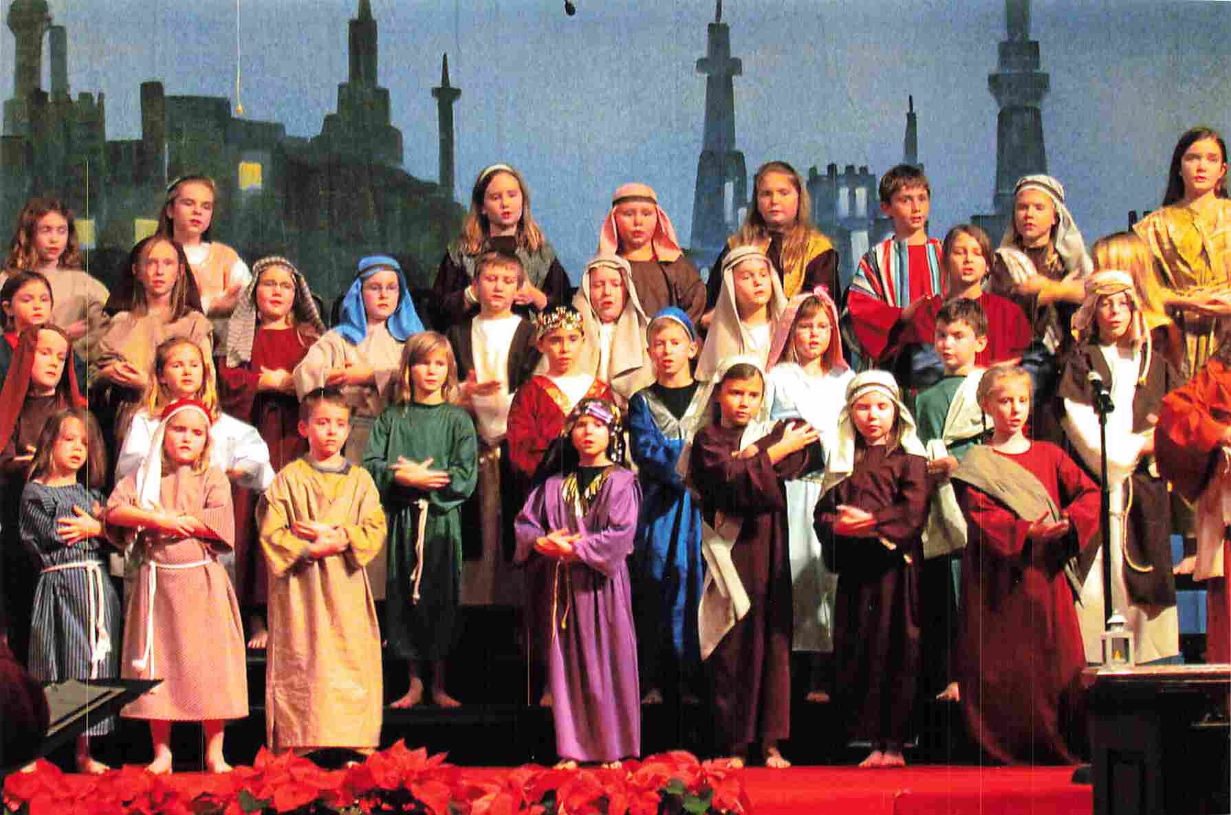 Picture from a Christmas Pageant