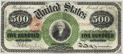 1862 $500 Legal Tender Red Seal