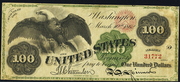 1862 $100 Legal Tender Red Seal