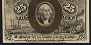 1863 2nd Issue 25 Cent Note