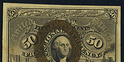 1863 2nd Issue 50 Cent Note