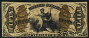 1863 3rd Issue 50 Cent Note