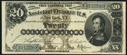1880 $20 Silver Certificates Brown Seal