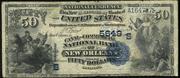1882 $50 National Bank Notes Blue Seal