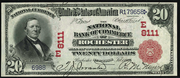 1902 $20 National Bank Notes Red Seal