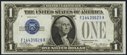 1928 $1 Silver Certificates Blue Seal