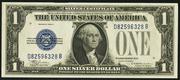 1928D $1 Silver Certificates Blue Seal