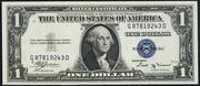 1935B $1 Silver Certificates Blue Seal