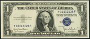 1935D $1 Silver Certificates Blue Seal