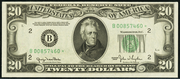 1950A $20 Federal Reserve Note Green Seal