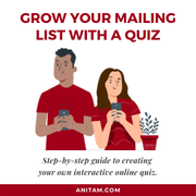 How to Grow Mailing List with an Interactive Quiz