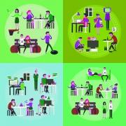 رفتار سازمانی در شرکتها نوکارتو