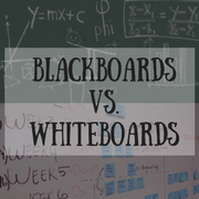 Blackboards Versus Whiteboards Blog Photo