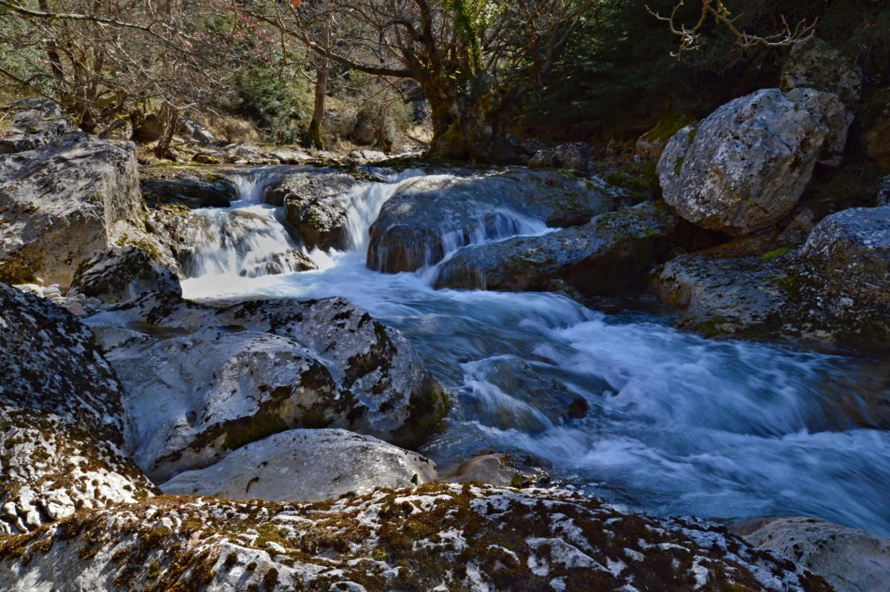 Vytina and the Mylaontas River, Arcadia, Greece