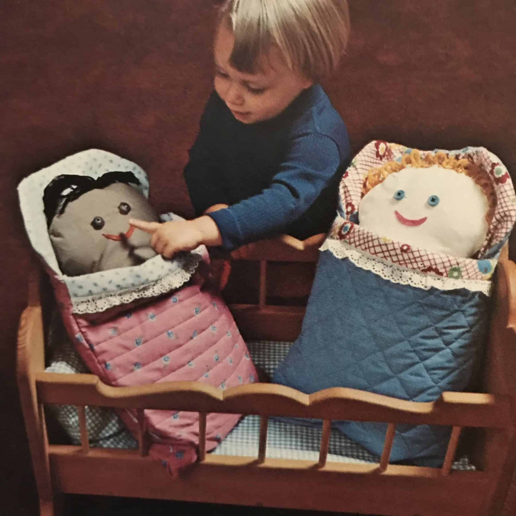 How to make vintage soft toys and dolls book