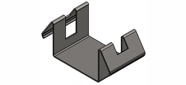 Flask saddle 100mm for induction casting machine