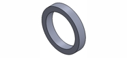 Paper O-ring for induction casting machine