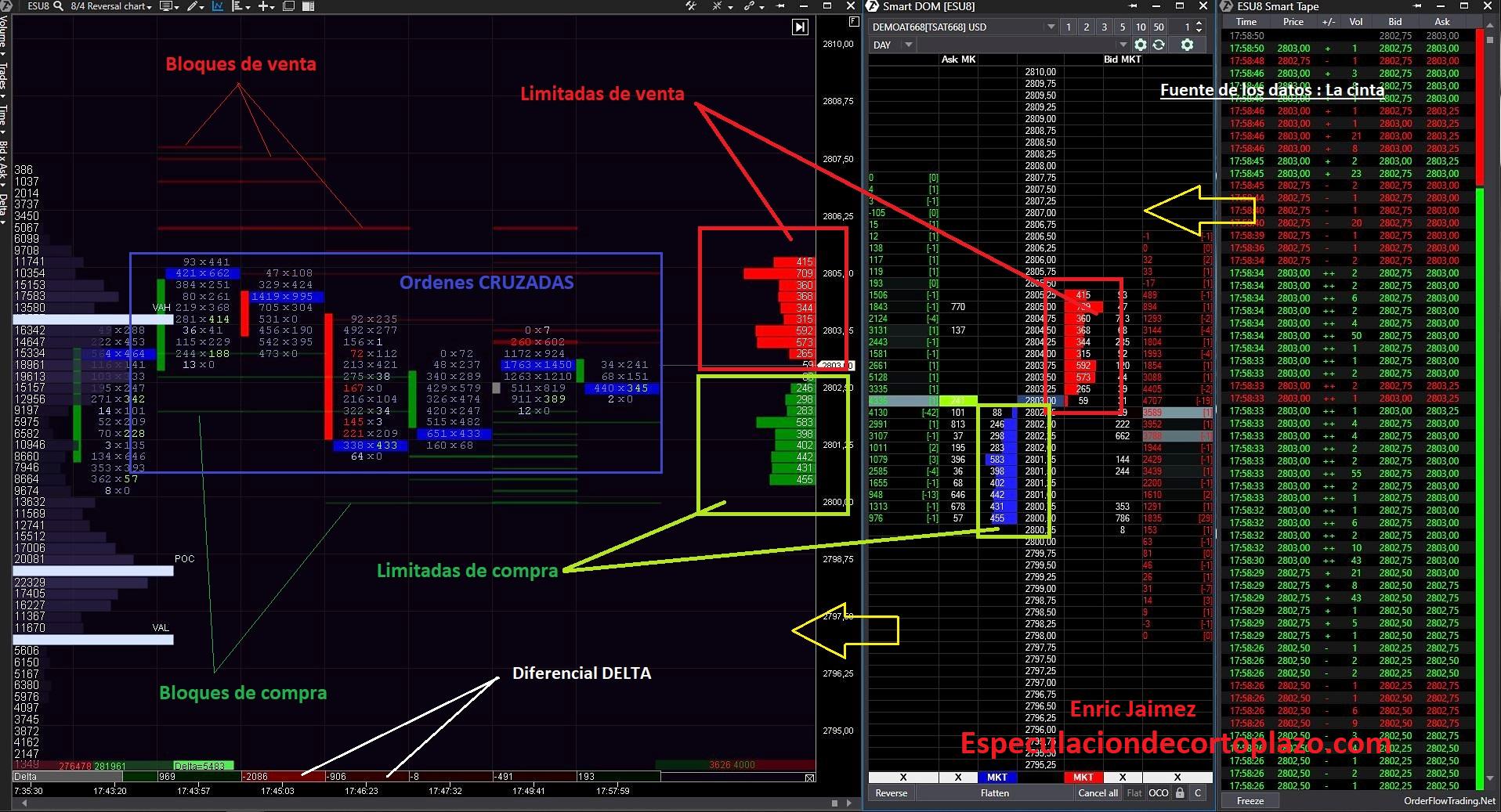 Manual Order Flow Trading | Estrategia y Patrones - Enric Jaimez