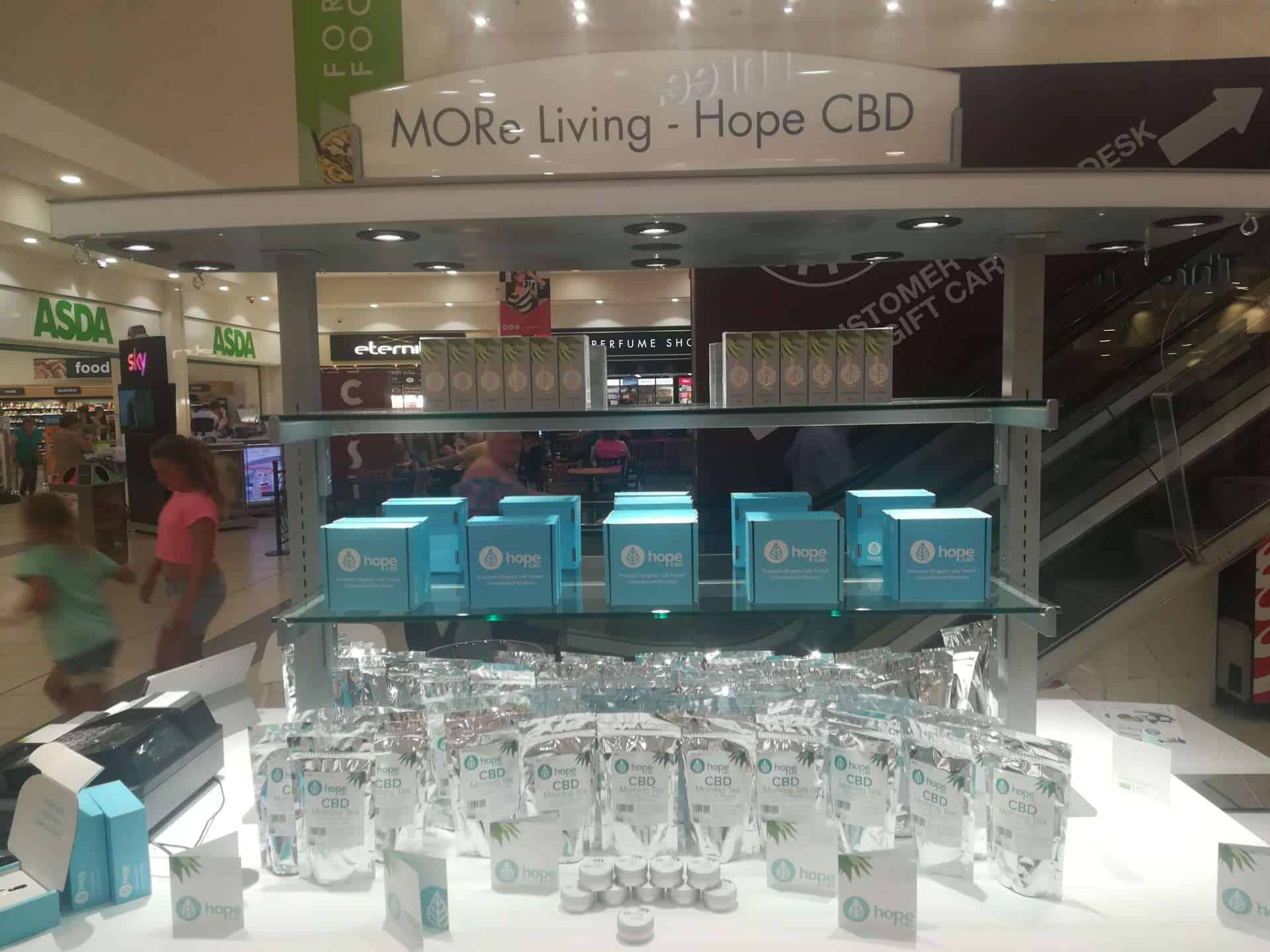 CBD in Glasgow – HopeCBD in Forge Shopping Center