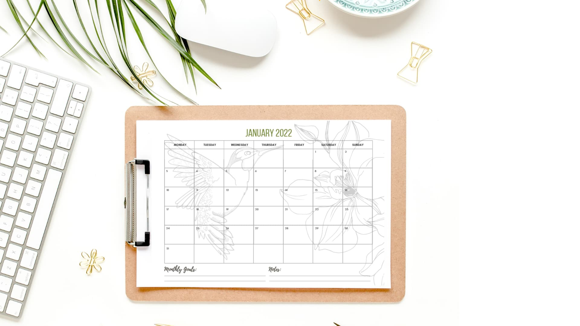 Free 2022 Printable Calendar