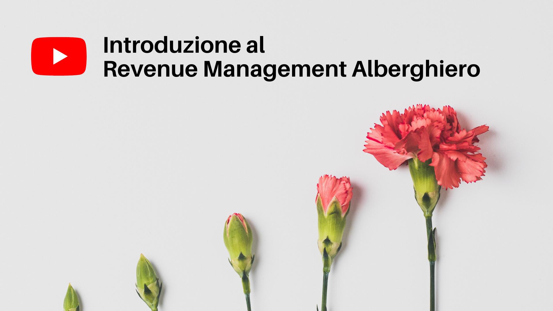 trilogia di video per avvicinarsi ai temi di revenue management per strutture ricettive