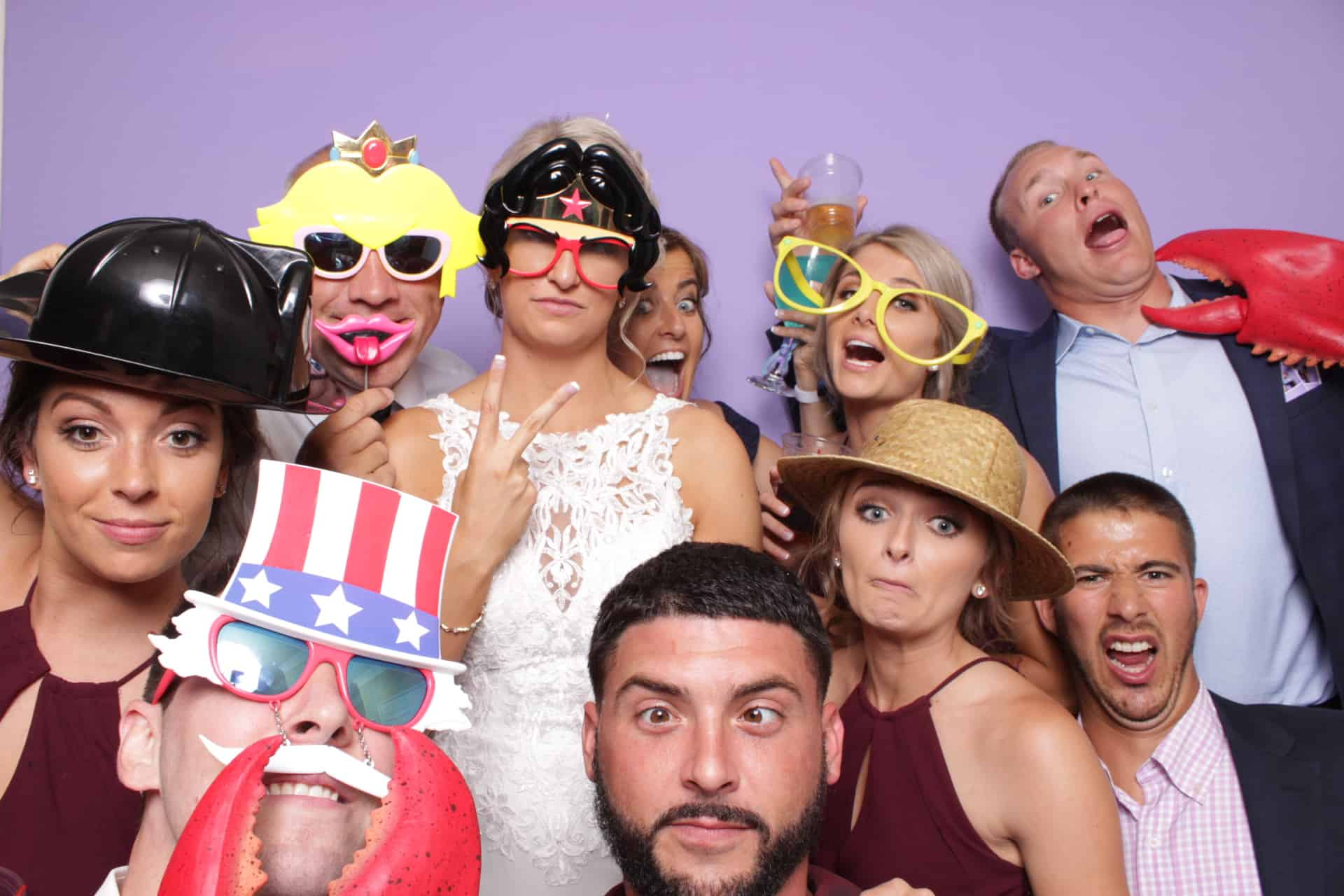 maryland wedding photo booth rental