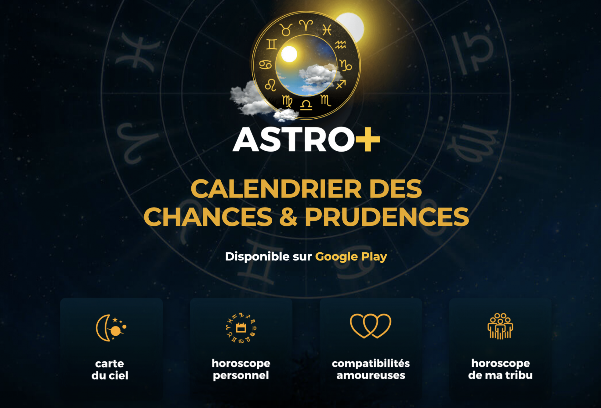 Astro+ landing page