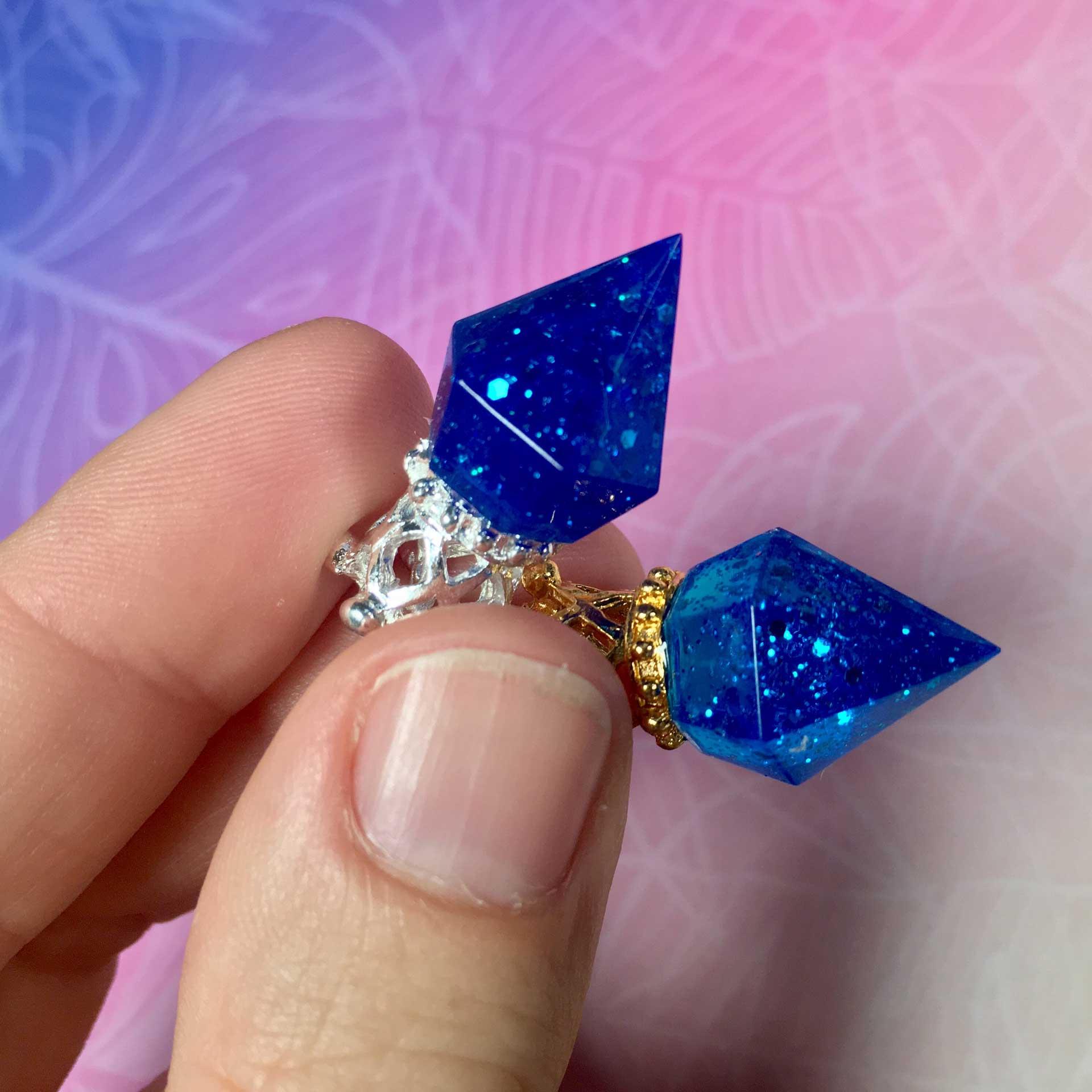 Kristalle gießen mit UV Harz   Bastelanleitung   PixieCrafting Blog