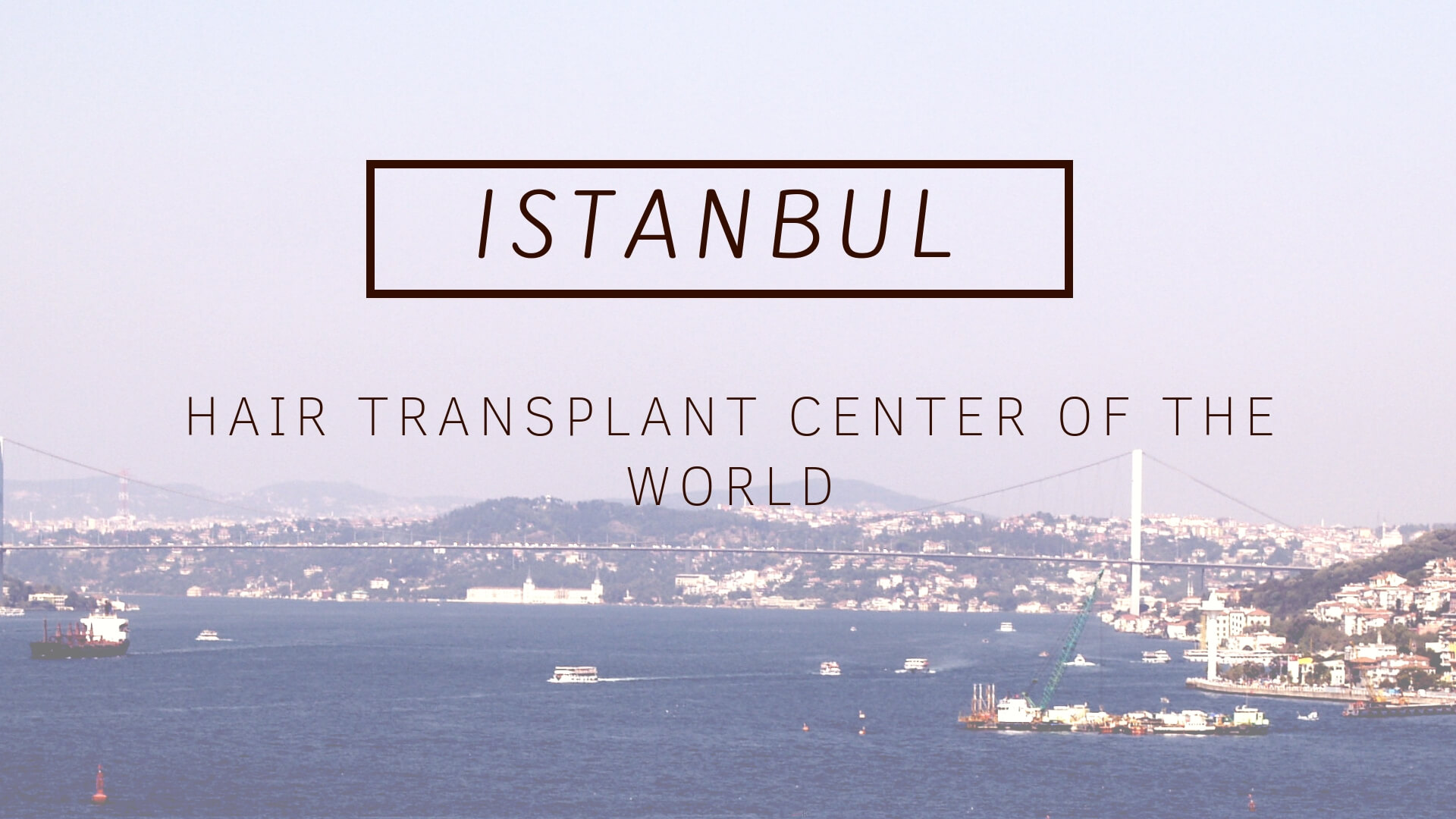 Istanbul hair transplant center of the world
