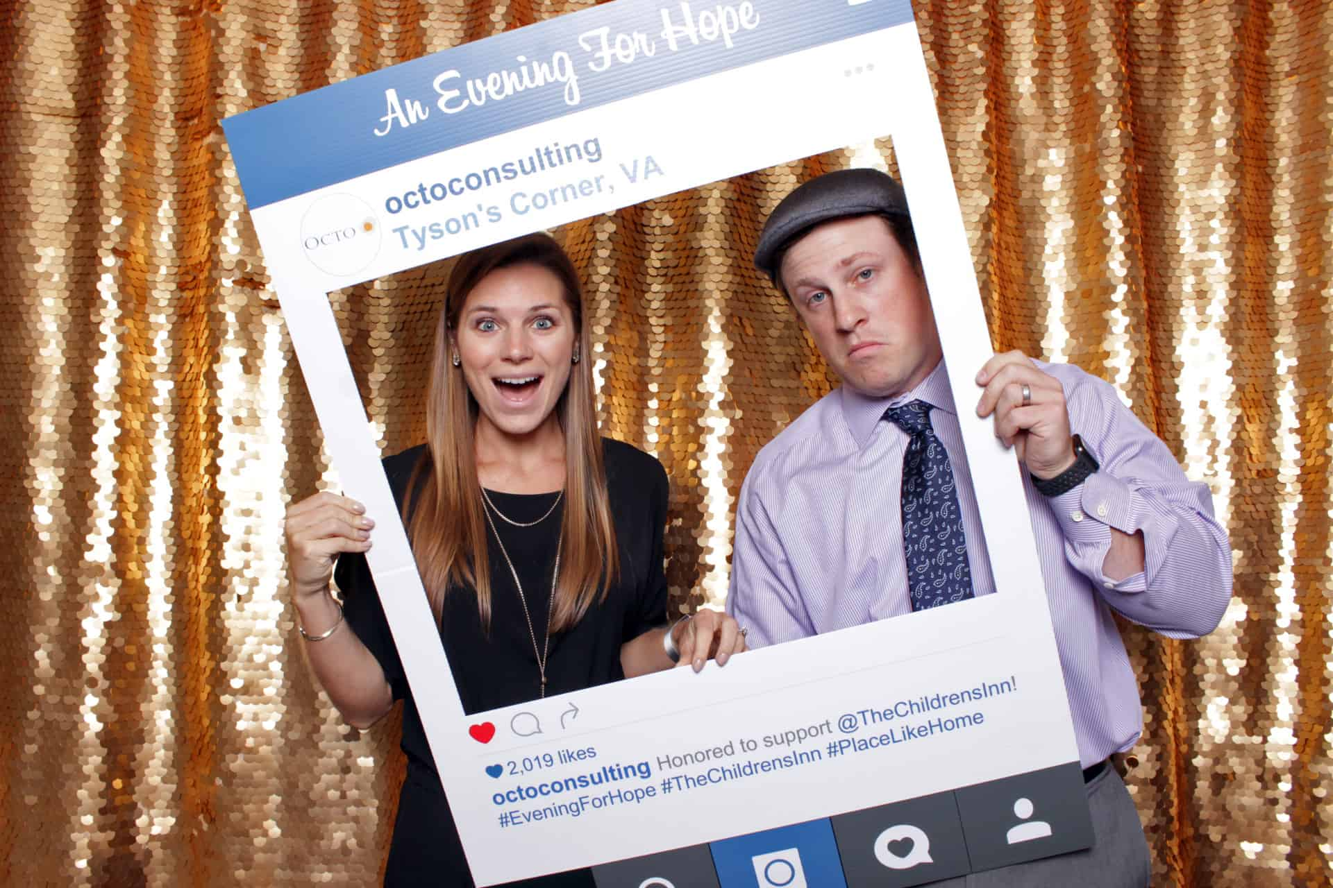 2019 NIH Evening of Hope Photo Booth (Ritz Carlton | Tysons, VA)