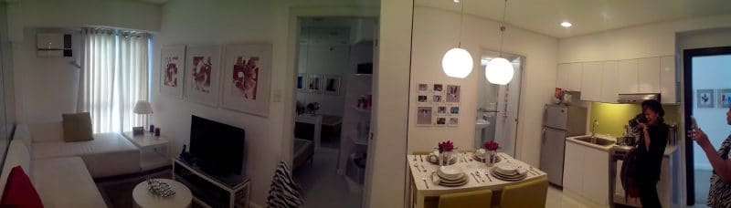 Model Unit - Panoramic Shot