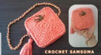 Eski Tisortten Çanta yaptım Croché Knitting
