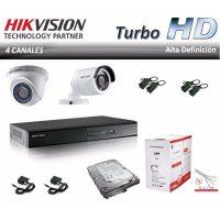 kit de cámaras hikvision con dvr