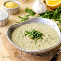 3-in-1 Artichoke Arugula Soup