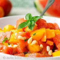 Refreshing Watermelon Tomato Salad