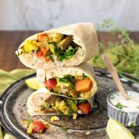Curry Cauliflower Burrito