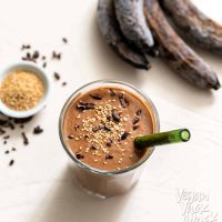 Chocolate Sesame Smoothie