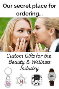 Looking for a unique gift for that special massage therapist, hair stylist, or esthetician in your life? Check out ourCustom gifts and business supplies #esthetician #hairstylist #massagetherapist