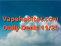 Vapehabitat.com Daily Deals 1120 featured image