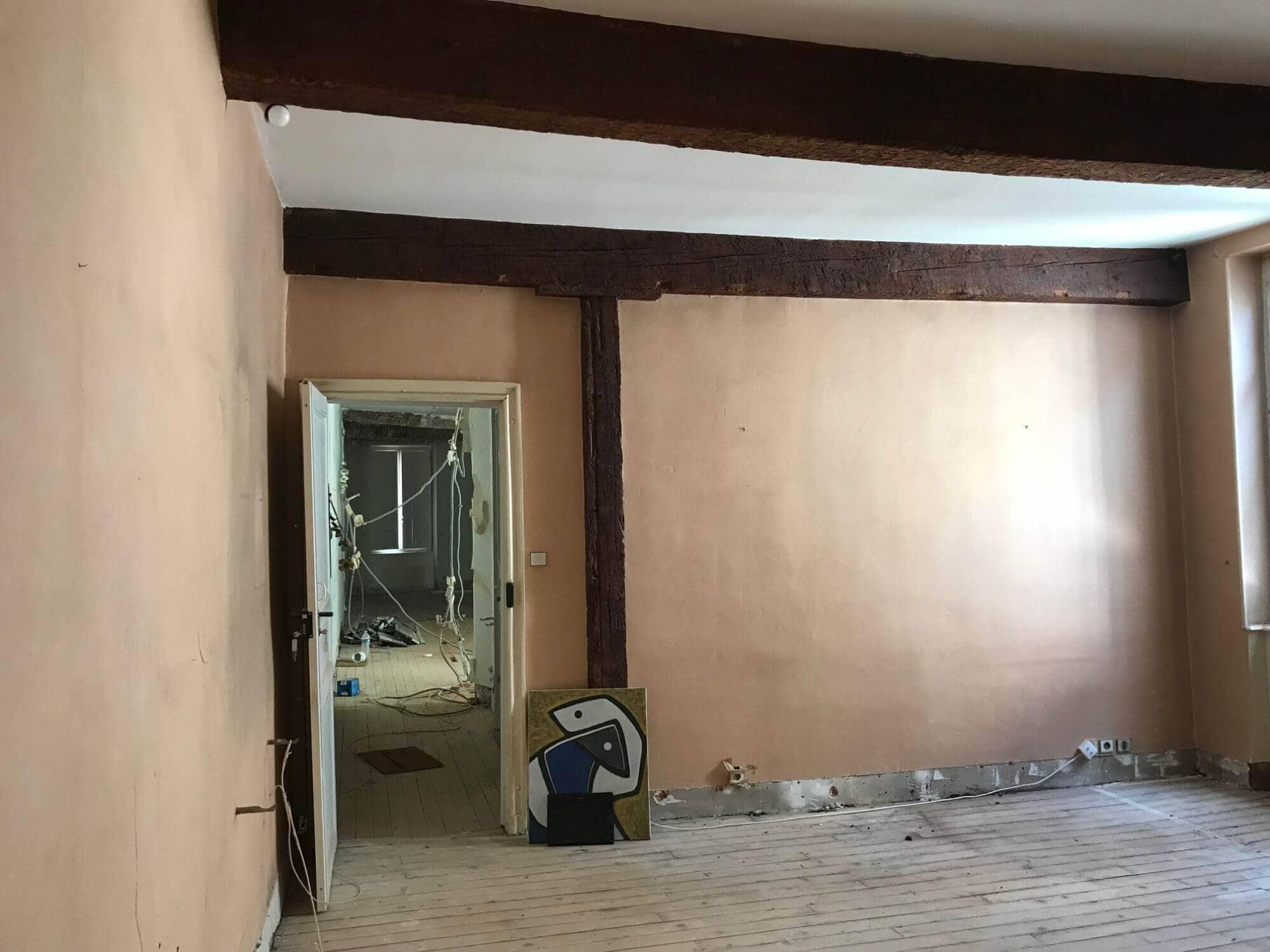 Rénovation, Couloir, Duplex, Carmes