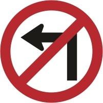 RUS013 - No left turn