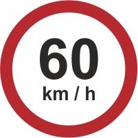 RUS042 - 60kmh speed limit