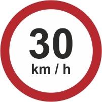 RUS044 - 30kmh speed limit