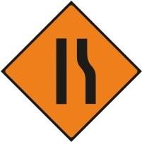 WK033 - Road narrows right