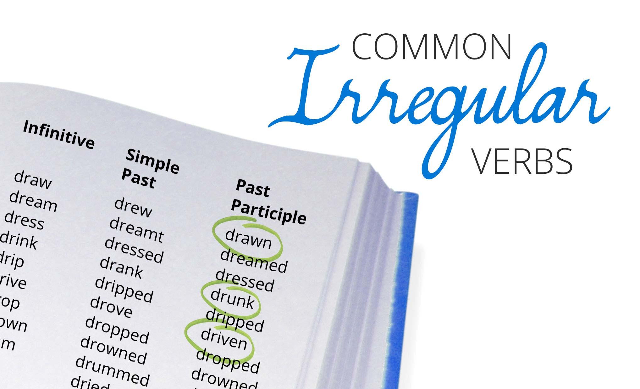 Irregilar Verbs List